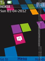 Lumia X3-02 theme screenshot