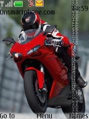 Ducati Biker theme screenshot