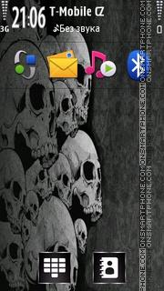Скриншот темы Skullhead