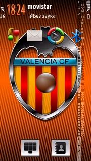 Valencia CF 5th es el tema de pantalla