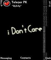 I dont care theme screenshot