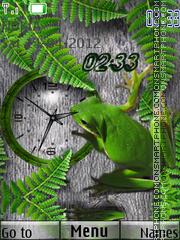Frog theme screenshot