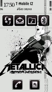 Metallica 24 Theme-Screenshot
