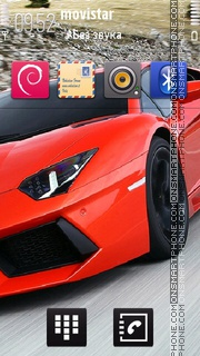 Sport Car v.2 theme screenshot