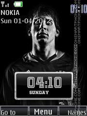 Lionel Messi 02 theme screenshot