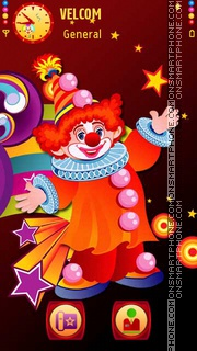 Clown theme screenshot