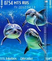 Blue-Water theme screenshot
