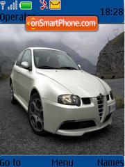 Alfa Romeo 147 theme screenshot