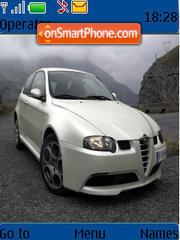 Capture d'écran Alfa Romeo 147 thème