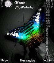 Black Butterfly es el tema de pantalla
