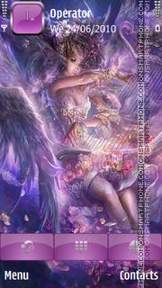 Purple Angel es el tema de pantalla