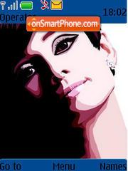 Audrey Hepburn es el tema de pantalla