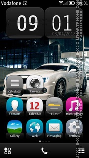 Скриншот темы Camaro Sport