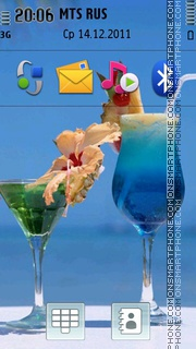 Summer Cocktail 01 Theme-Screenshot