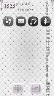 White 05 tema screenshot