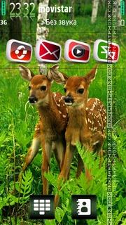 Deer 02 theme screenshot