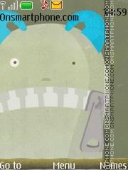 Monster Icon theme screenshot