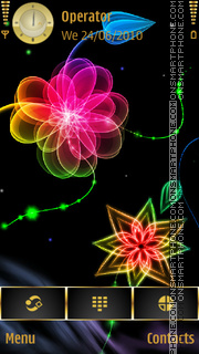 Neon Glow theme screenshot