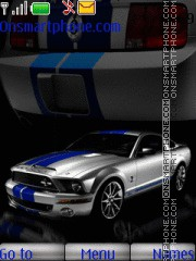 Hot Mustang Car tema screenshot