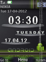 Android SWF Theme tema screenshot