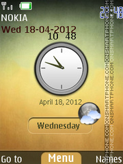 Metallic Wall Theme tema screenshot