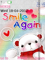 Smile Again 03 theme screenshot
