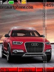 Скриншот темы Red Audi 04