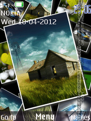 Window 8 slide theme screenshot