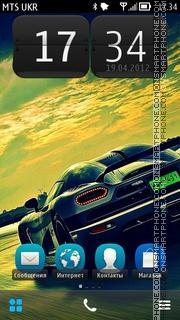 Super Car es el tema de pantalla