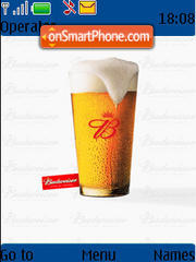 Budweiser theme screenshot