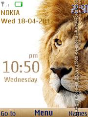 Mac OS Lion theme screenshot