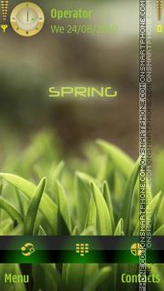Spring - BLV tema screenshot