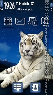 Tiger tema screenshot
