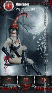Ghotic Zodiac: Scorpio tema screenshot