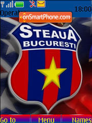 Mit Steaua Bucuresti theme screenshot