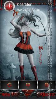 Ghotic Zodiac: Sagittarius tema screenshot