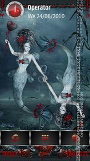 Ghotic Zodiac: Pisces tema screenshot