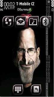 Скриншот темы Steve Jobs