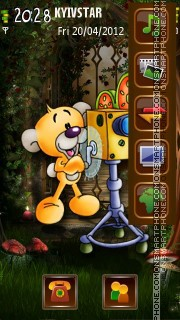 Operator Pimboli theme screenshot