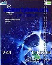 UEFA Champions League theme screenshot