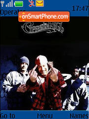 Cypress Hill theme screenshot