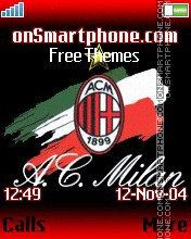 AC Milan es el tema de pantalla
