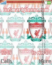 FC Liverpool tema screenshot