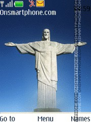 Christ the Redeemer theme screenshot