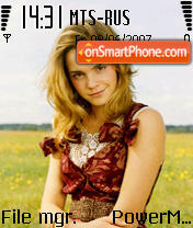 Emma Watson 02 theme screenshot