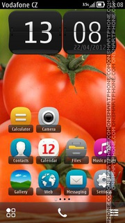 Tomatoes theme screenshot