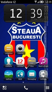 Steaua 01 theme screenshot