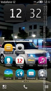 Скриншот темы Range Rover 06