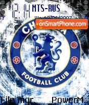 Chelsea 2009 theme screenshot