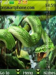Green Snake 05 theme screenshot